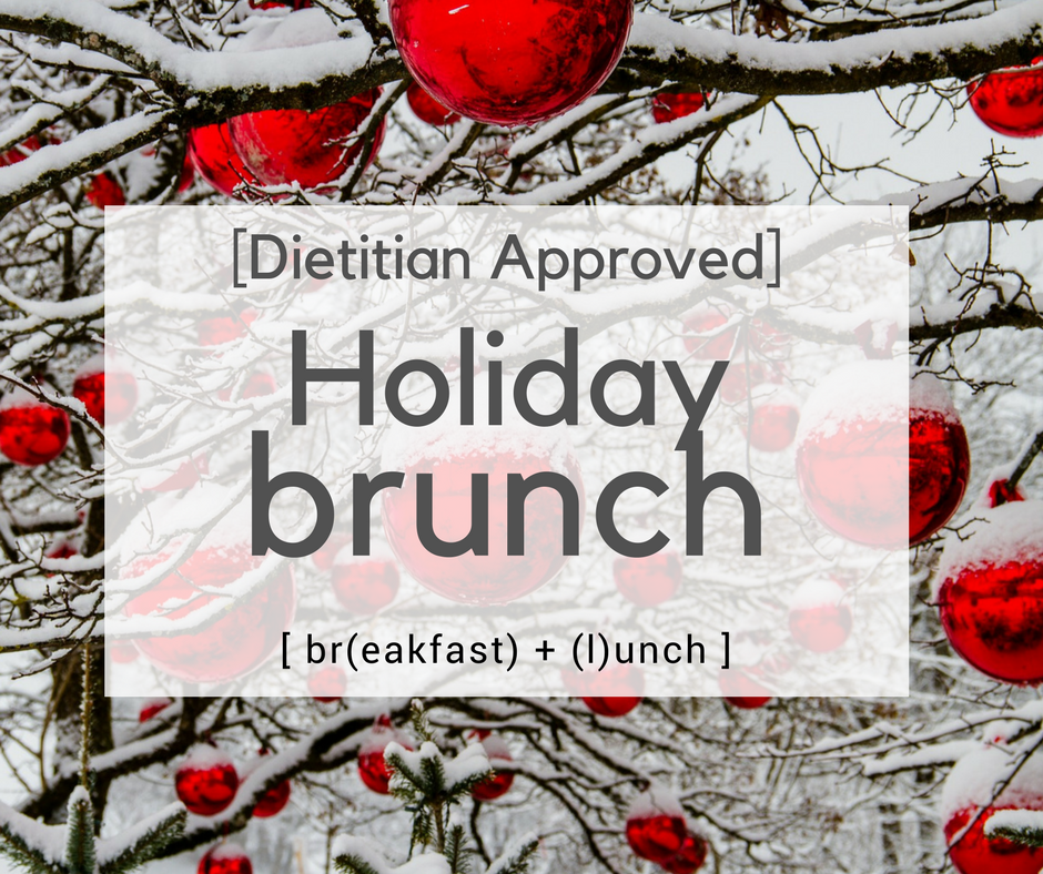 Dietitian-Approved Holiday Brunch Recipes – EatWell Price Cutter